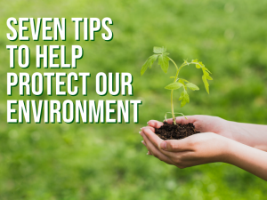 Seven Tips to Help Protect Our Environment